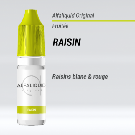 ALFALIQUID | RAISIN